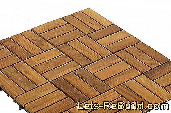 Laying Wooden Tiles On The Terrace » The Advantages