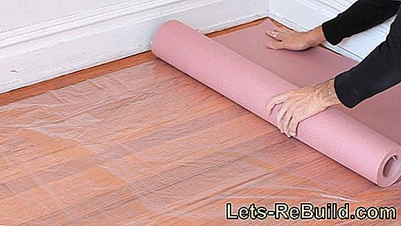 Clean and protect wooden tiles