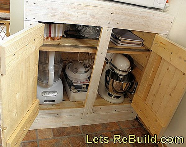 Make a nice floor out of shabby old wooden floorboards