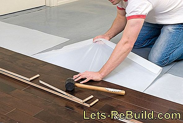 Very easy - lay wooden floorboards floating
