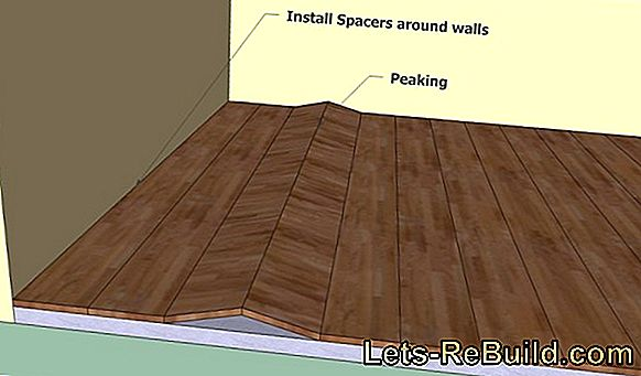 Lay wood planks like the specialist