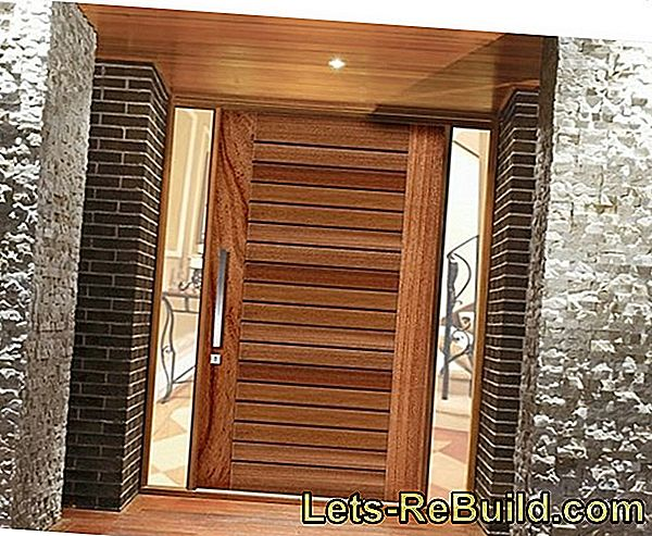 The prices for wooden entrance doors made of wood