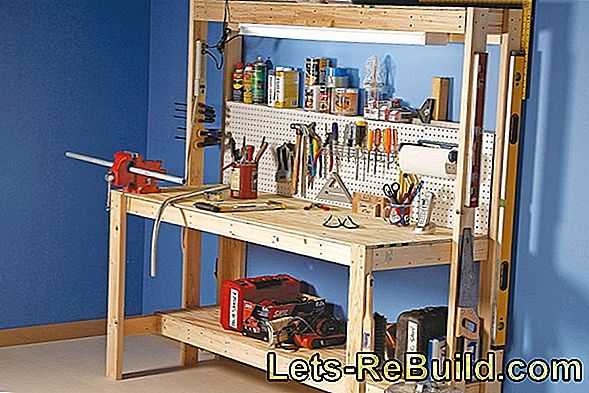 Build A Multifunctional Workbench Yourself » That'S How It Works