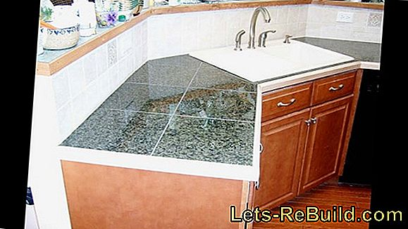 Increase kitchen countertop