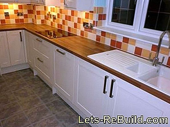 Kitchen in beech - which worktop fits?
