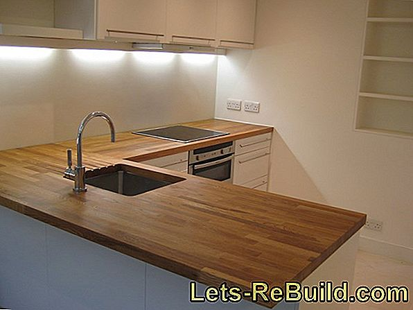 Cutting The Kitchen Worktop » Instructions In 4 Steps