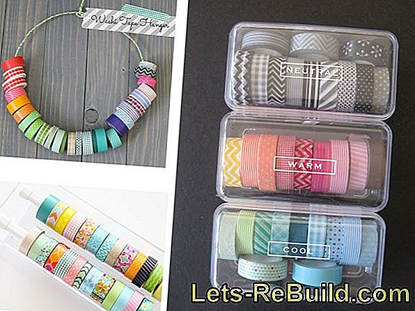 Ideas de cintas washi