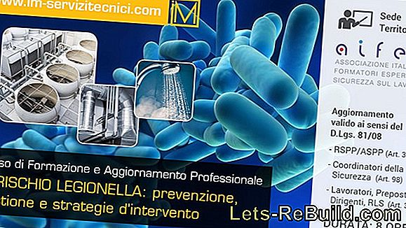 Legionella » Test Per Acqua Potabile