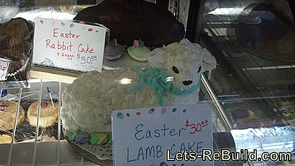 Easter Lamb Cake: The Easter cake om zelf te maken