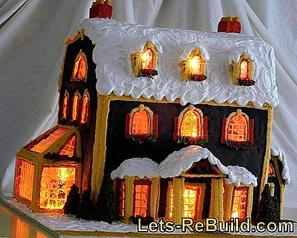 Gingerbread House Instructions - Zelf peperkoekhuis maken