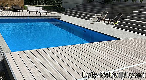 Installera en pool av glasfiber säkert