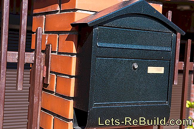 Install letterbox correctly