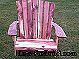 Bygg Adirondack selv. Bear-Chair for DIY: bygg