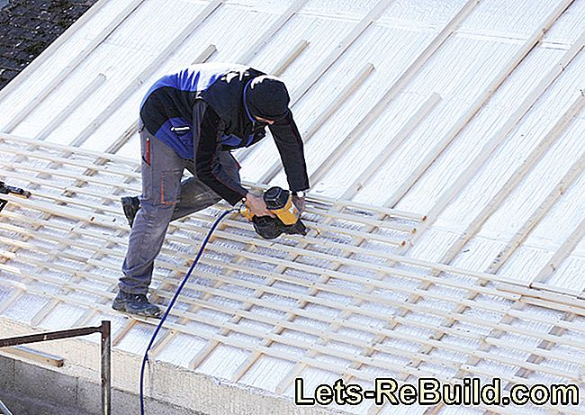 Guarantee the durability of the substructure - roof battens