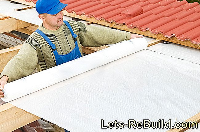 Roof sealing foil - plastic instead of bitumen