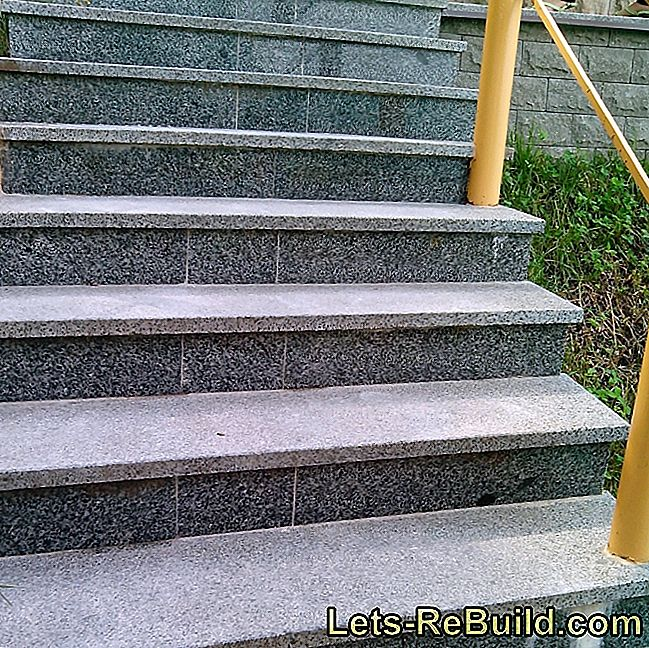 An artificial stone staircase is durable and durable