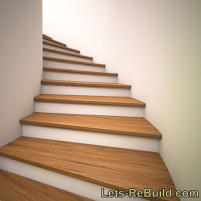 The stairs creak? How to find a remedy!