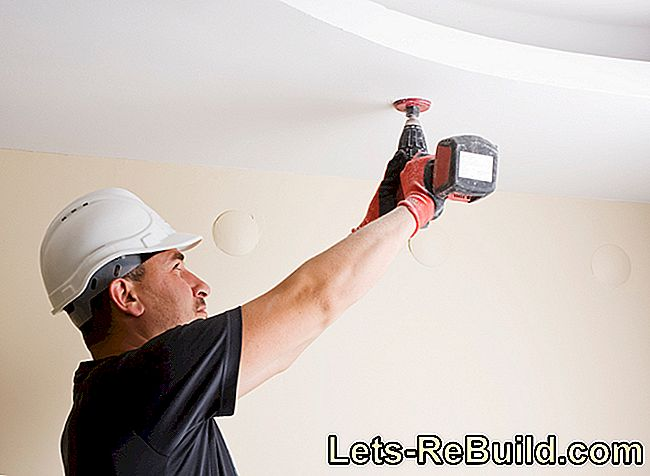 Repairing The Stretch Ceiling » This Is How You Mend A Hole