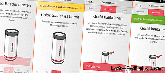 ColorReader no Datacolor testā: ColorReader