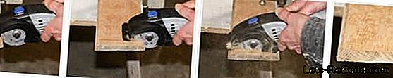 The compact Dremel DSM circular saw in the home improvement: dremel