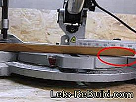 The miter saw for fast and accurate cuts: fast