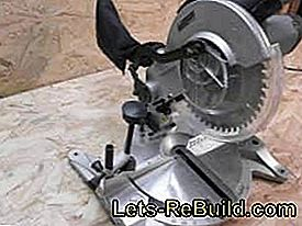 The miter saw for fast and accurate cuts: angle