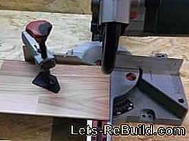 The miter saw for fast and accurate cuts: cuts