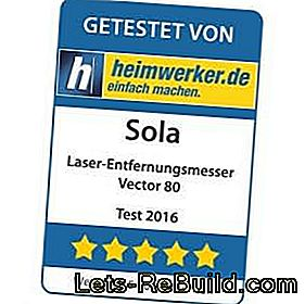 In the test the laser rangefinder Vector 80 from Sola: test