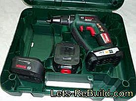 In the test of the cordless drills PSB 18 LI-2 Ergonomic from Bosch: ergonomic