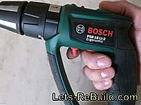 In the test of the cordless drills PSB 18 LI-2 Ergonomic from Bosch: test