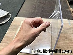 Instructions - Courbure en plexiglas: verre