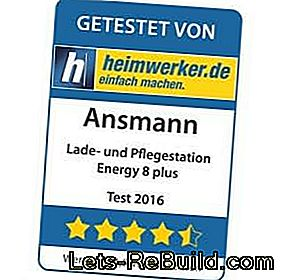 Product test: Ansmann battery charging and care station Energy 8 plus: test