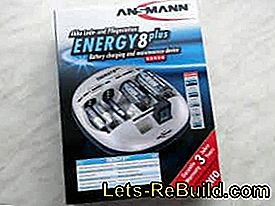 Product test: Ansmann battery charging and care station Energy 8 plus: battery