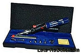 Soldering iron test and price comparison: soldering iron, gas soldering iron and battery soldering iron in: price