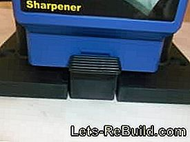 Westfalia universal sharpening station with shaft in: sharpening