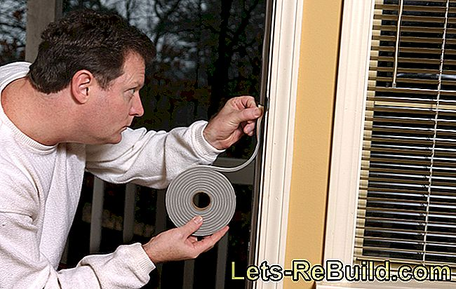 Install a window sealing tape
