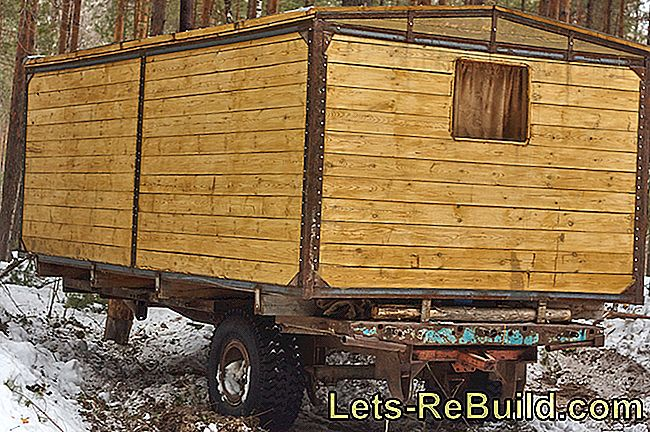 Wooden House On Wheels » A Practical Alternative?