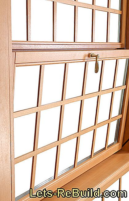 Repair wooden windows - you can do that